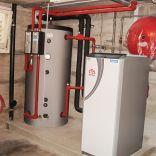 Erdsonden Wärmepumpe, Sanierung Einfamilienhaus