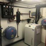 Erdsonden-Wärmepumpe Inverter Sanierung
