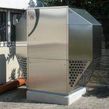 Luft-Wasser Wärmepumpe aussen aufgestellt